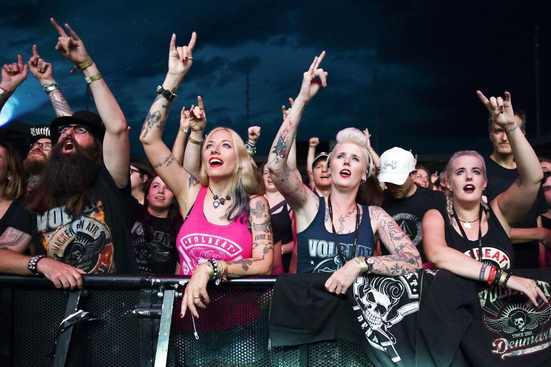 Volbeat-fans.