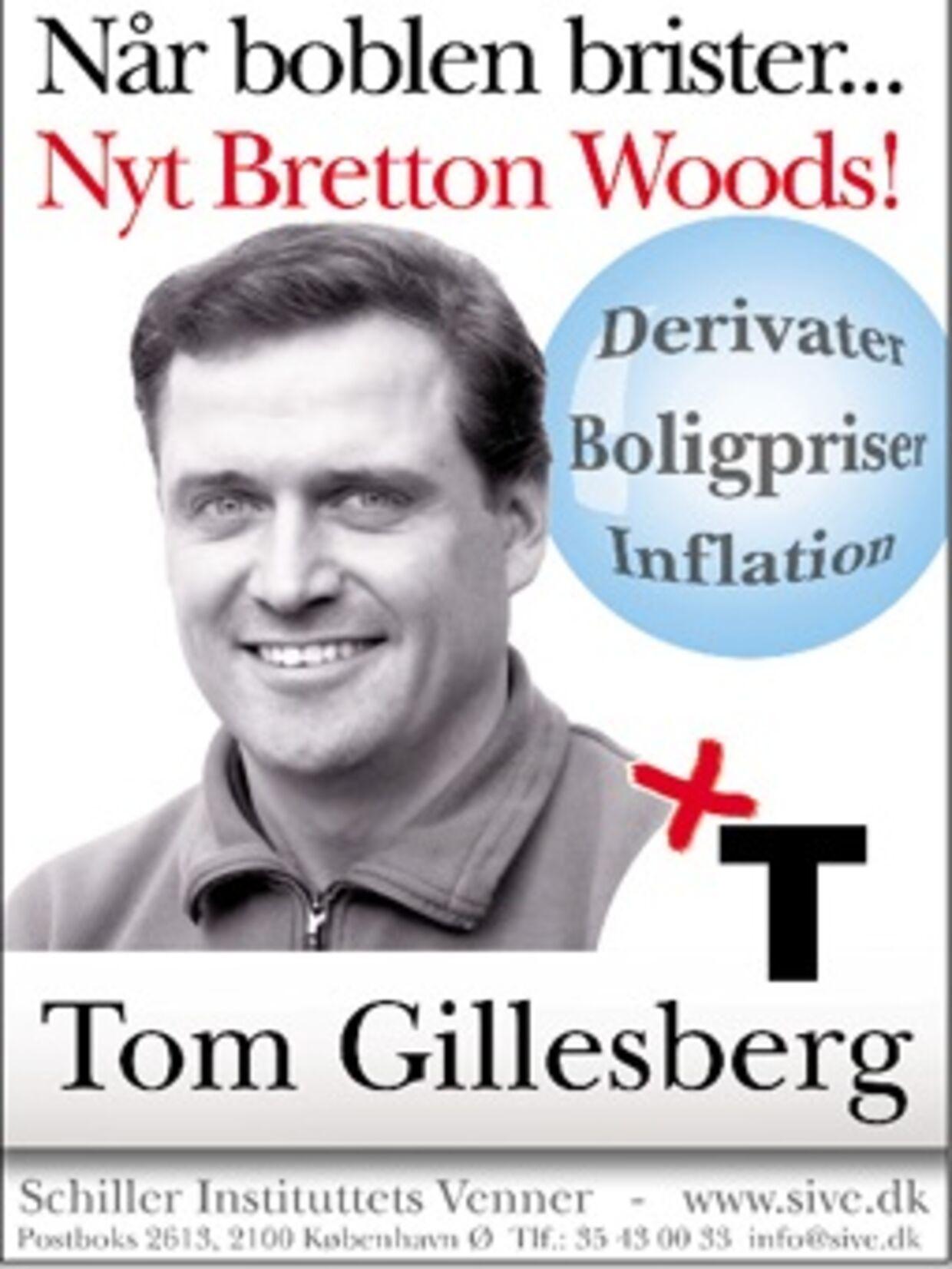 Tom Gillesberg-plakat 2005.