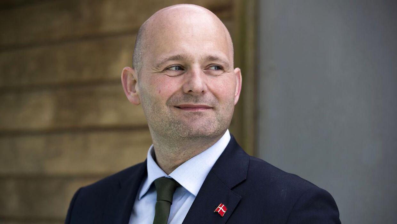Søren Pape, leder af De Konservative vil ikke lægge stemmer til Løkkes velfærdsløfter. (Arkivfoto)