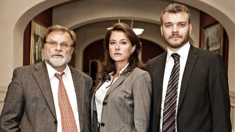 Pilou Asbæk fik sit folkelige gennembrud i tv-serien 'Borgen'.