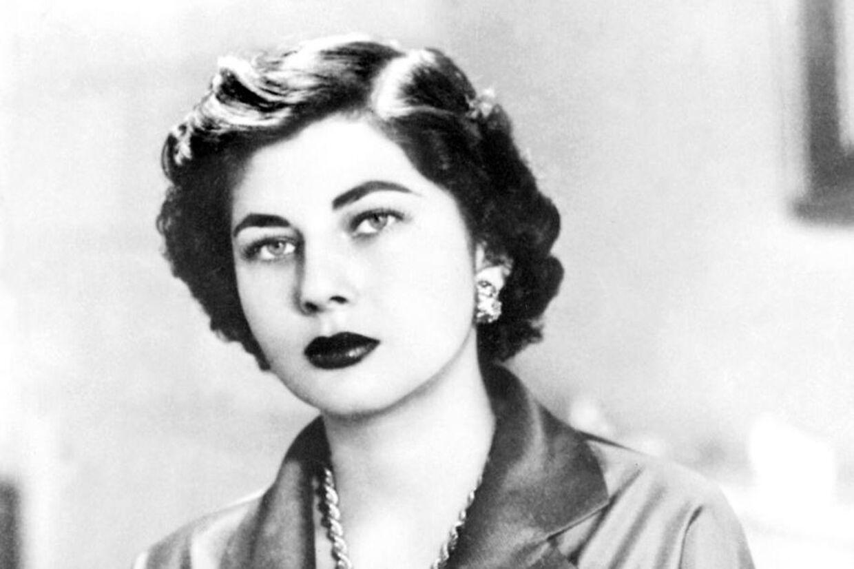 Så smuk var ex-kejserinde Soraya, som Klaus Pagh scorede i sin ungdom.