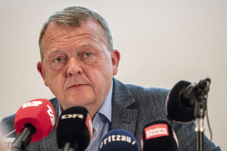 Statsminister Lars Løkke Rasmussen (V) fremlagde Kirsten Jacobsens bog 'Befrielsens øjeblik – Samtaler med Lars Løkke Rasmussen'.