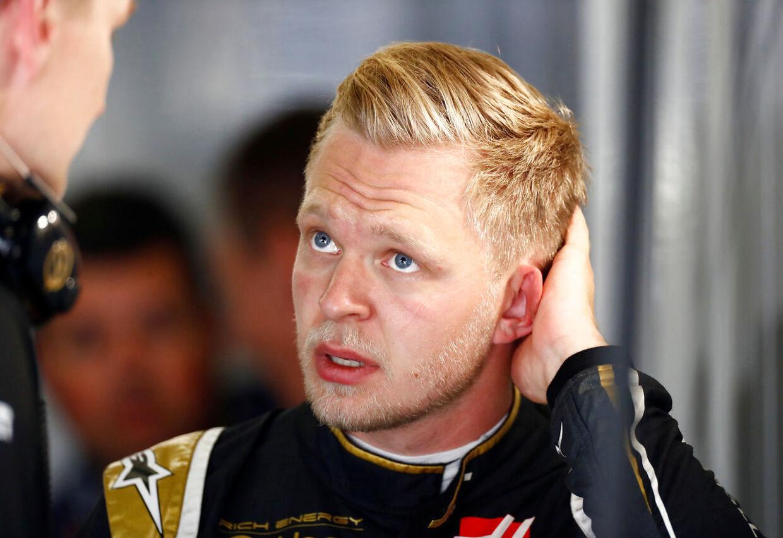 Kevin Magnusen kom i fokus efter Barcelona-løbet.