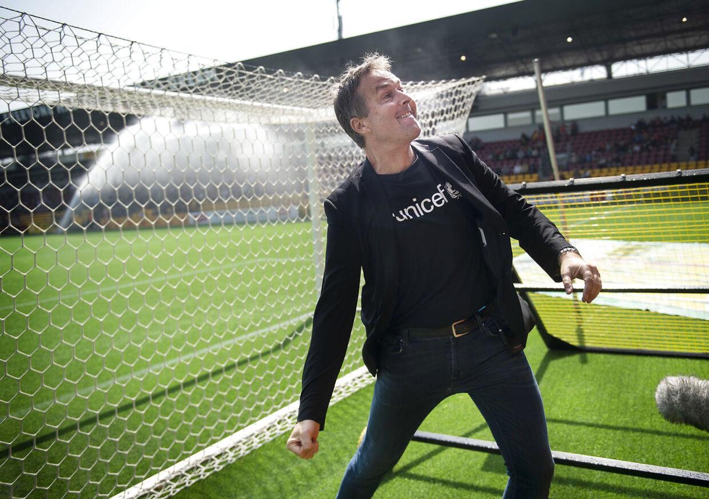 FC Nordsjællands Cheftræner Kasper Hjulmand før sin sidste kamp på hjemmebane før superligakamp mellem FC Nordsjælland-OB på Farum Park, søndag den 19 maj 2019. (Foto: Liselotte Sabroe/Ritzau Scanpix)