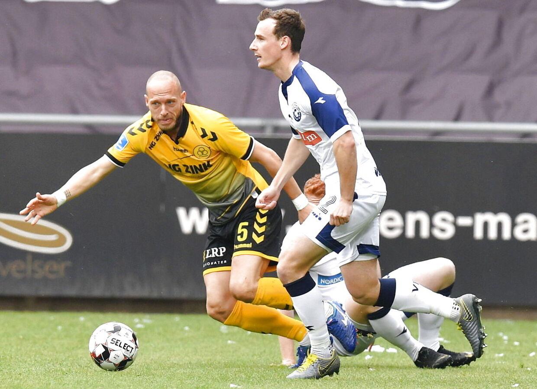 Superligafodbold, nedrykningspillet, playoff anden kamp, AC Horsens – Vendsyssel FF, Horsens søndag den 19. maj 2019. (Foto: Ernst van Norde/Scanpix 2019)