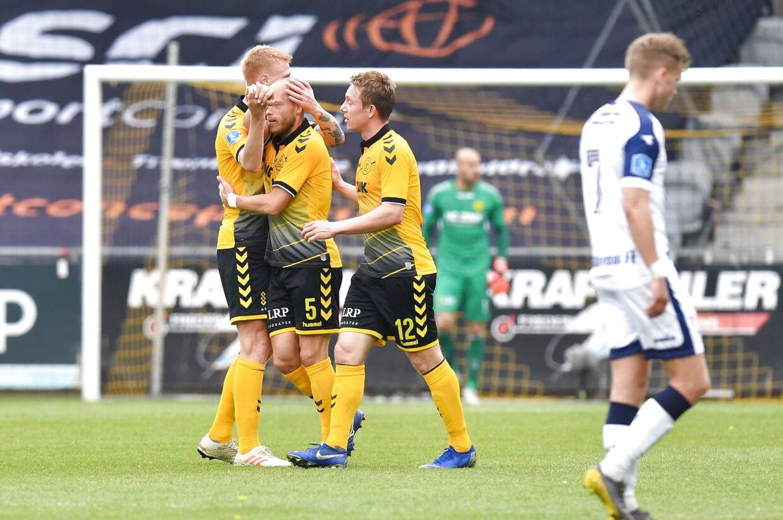 Superligafodbold, nedrykningspillet, playoff anden kamp, AC Horsens – Vendsyssel FF, Horsens søndag den 19. maj 2019. (Foto: Ernst van Norde/Ritzau Scanpix)