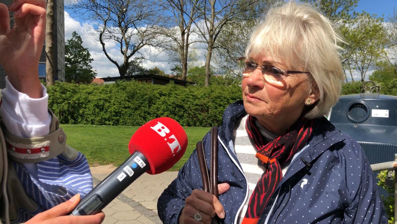 Folketingets formand, Pia Kjærsgaard (DF), på besøg i Brønshøj.