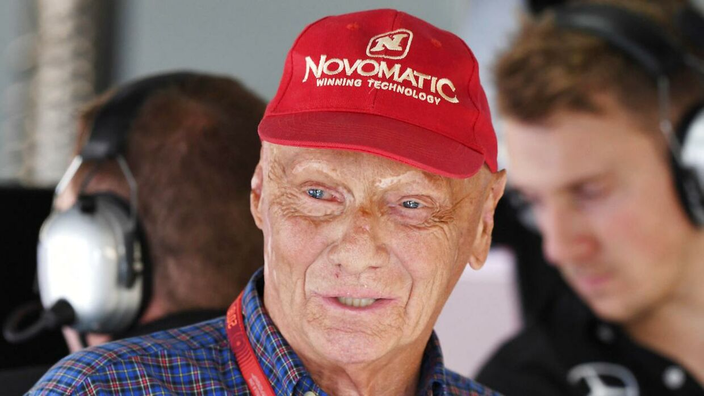 Den tredobbelte verdensmester i Formel 1 Niki Lauda er død. Han blev 70 år. (Arkivfoto)
