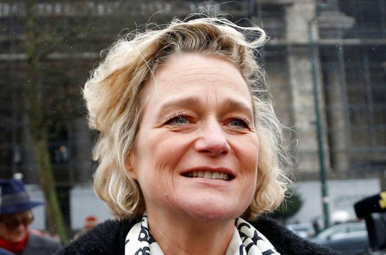 Kunstneren Delphine Boël kan blive arving til kong Alberts enorme formue.