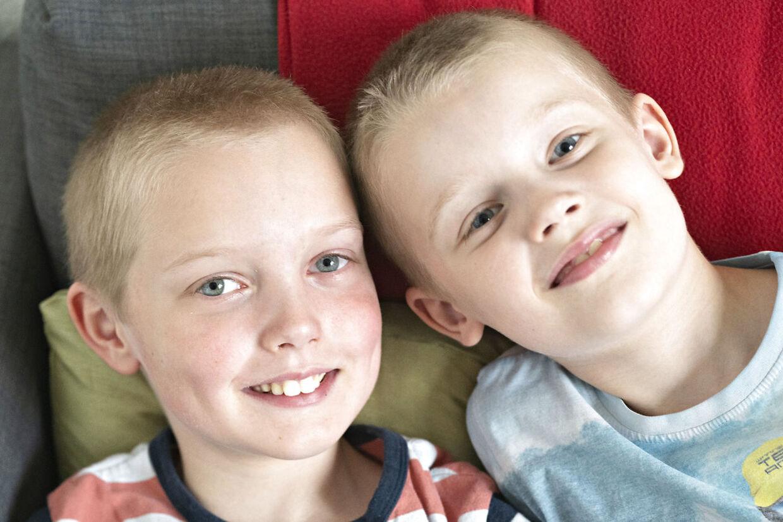 Birthe, mor til autistiske børn. Mathias og Mads. Smørum, 22. maj 2019.