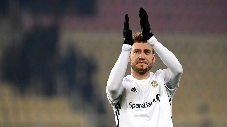 Nicklas Bendtner viste sig med det samme at blive en gevinst for Rosenborg.