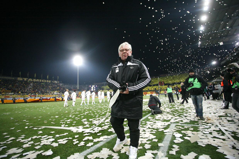 Som træner blev Nils Arne Eggen mester med Rosenborg BK hele 14 gange.