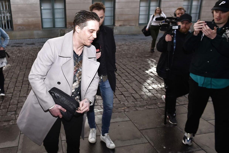 Nicki Bille ankommer til retten i København den 25. april 2019.