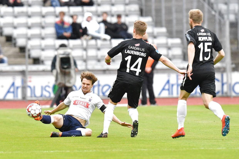 Superligafodbold AGF -Randers FC Ceres Park. Aarhus søndag 26 maj 2019. (Foto: Ernst van Norde/Scanpix 2019)