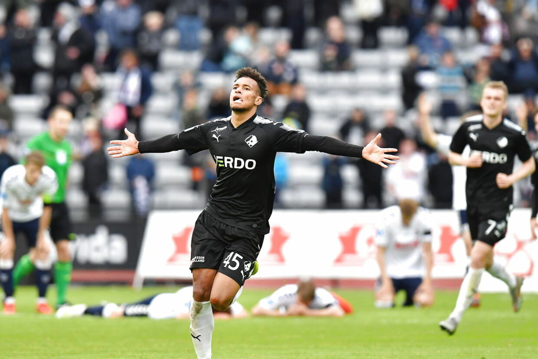 Superligafodbold AGF - Randers FC i Ceres Park i Aarhus, søndag 26 maj 2019