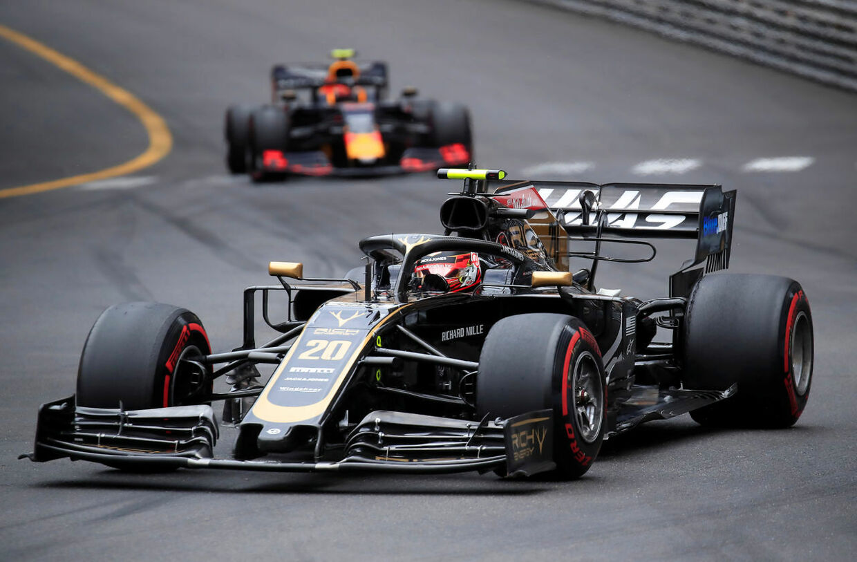 Formula One F1 - Monaco Grand Prix - Circuit de Monaco, Monte Carlo, Monaco - May 26, 2019 Haas' Kevin Magnussen in action during the race REUTERS/Gonzalo Fuentes