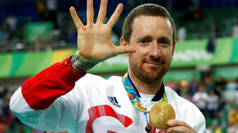 Bradley Wiggins vandt guld ved OL i Rio på banen.