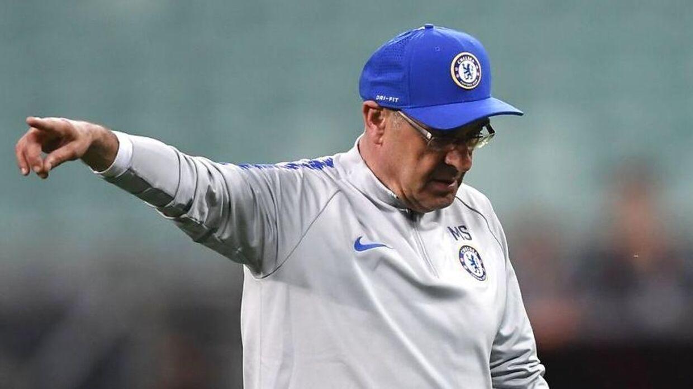 Chelsea-manager Maurizio Sarri.