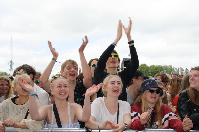 Birthe Kjær på Jelling musikfestival 2019.