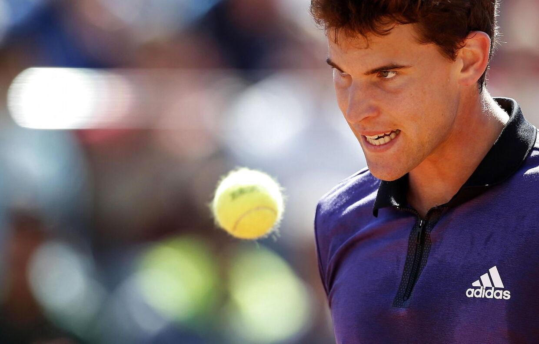 Dominik Thiem fik i weekenden ved French Open afbrudt et pressemøde, fordi Serena Williams ønskede at afvikle et tilsvarende med øjeblikkelig virkning samme sted.