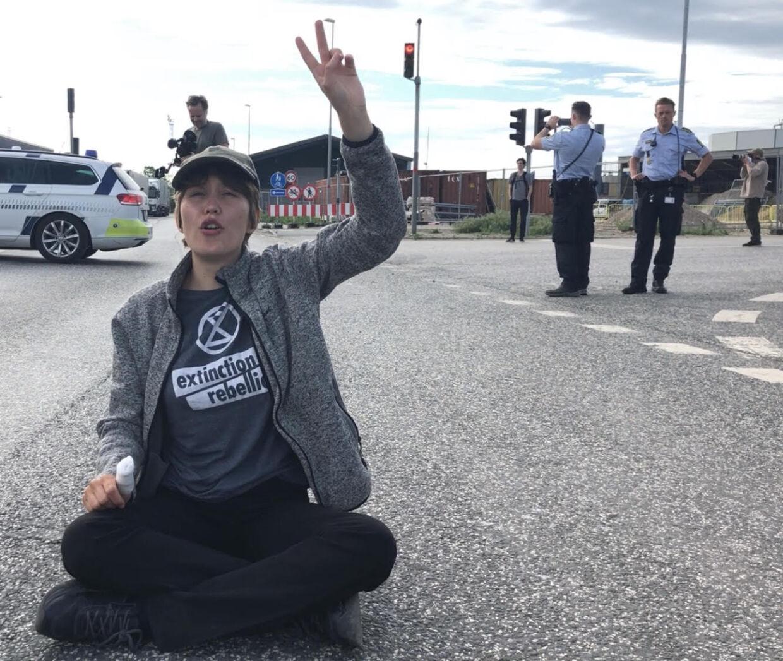 For nogle måneder siden stoppede Laura Kjøller en konference og overtog talerstolen som en del af sin aktivisme.
