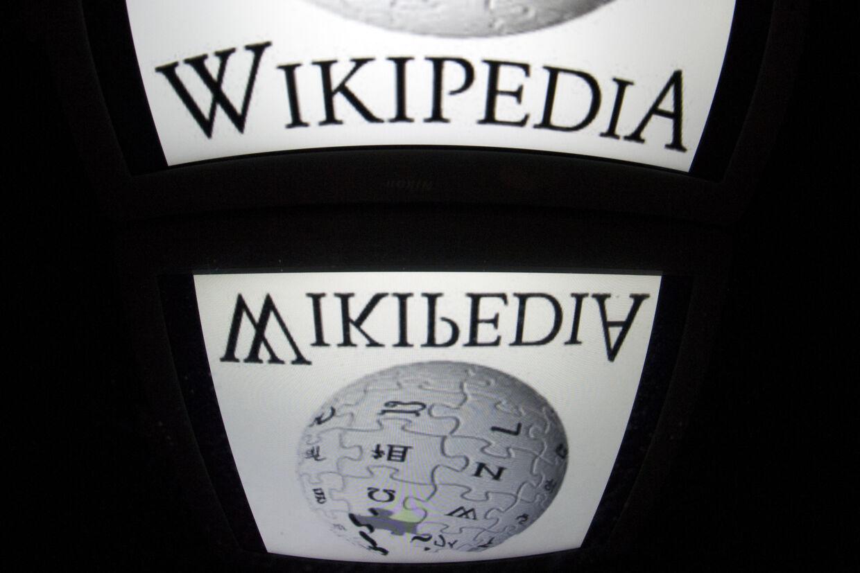 Dansk Wikipedia blev lanceret 1. febraur 2002, mandag aften rundede siden 250.000 artikler på danske. (Arkivfoto) Lionel Bonaventure/Ritzau Scanpix
