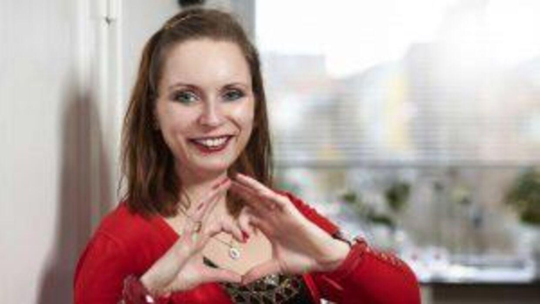 Natascha Kristiansen hed Camilla, dengang hun deltog i 'Singleliv' (Foto: SBS).