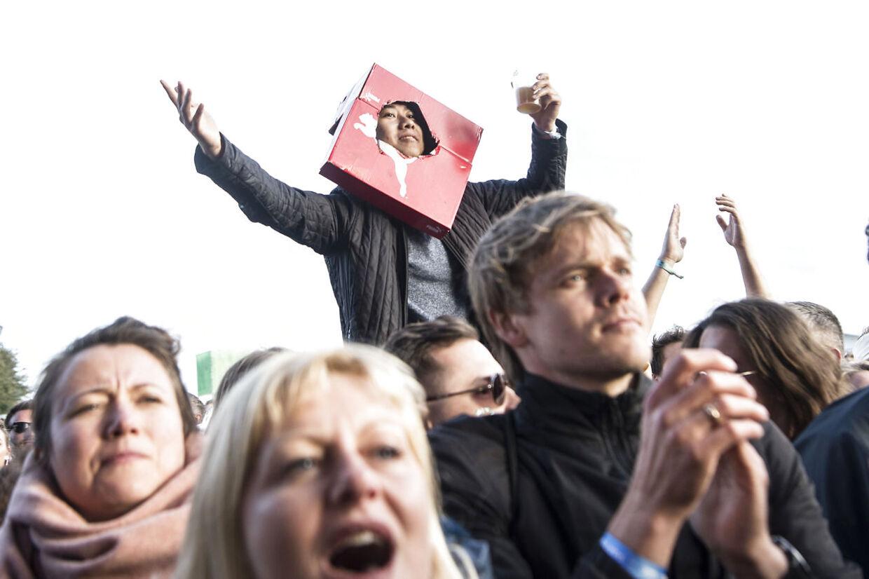 Keane-fans på Northside.