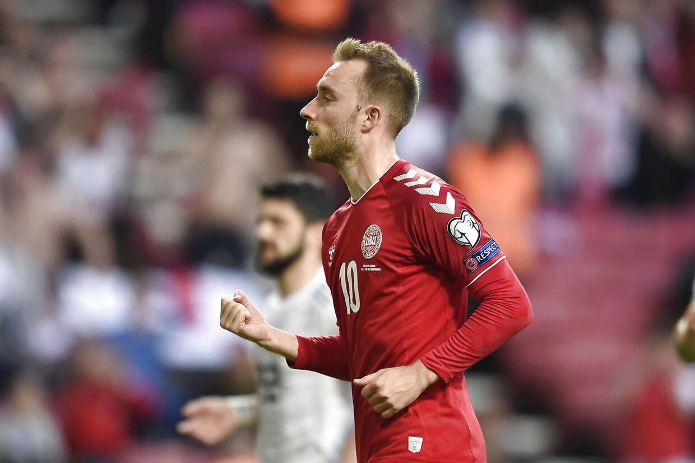 EM-kvalifikationkamp mellem Danmark - Georgien i Telia Parken, mandag den 10 juni 2019