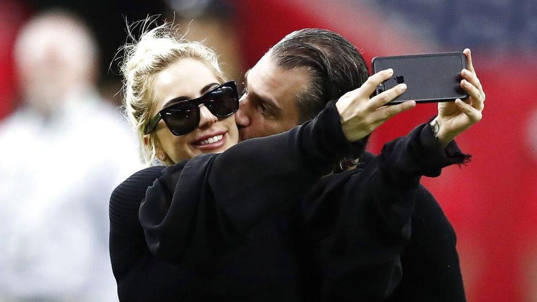 Lady Gaga og hendes forlovede gik fra hinanden i februar.