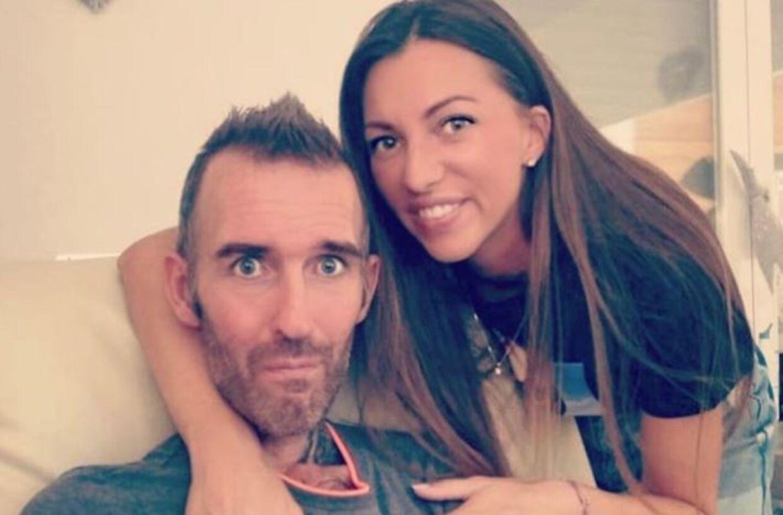 Fernando Ricksen med hustruen Veronika Ricksen. (Foto: Instagram)