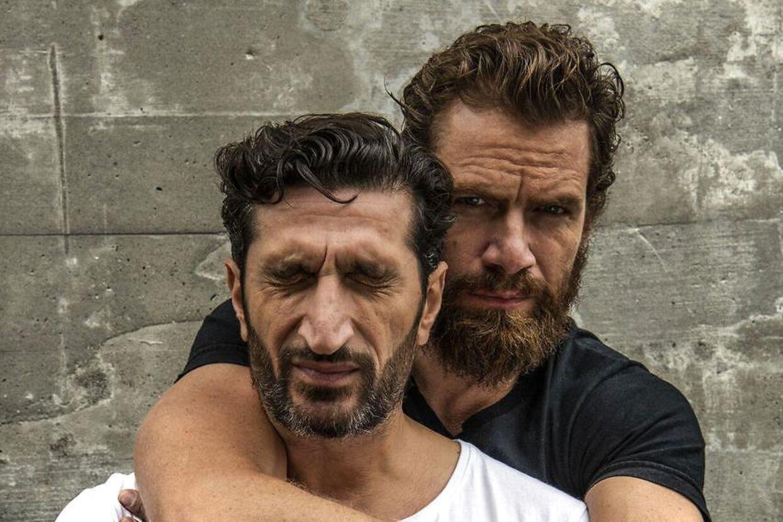 Nikolaj Lie Kaas og Fares Fares, som i fire film spillede Carl Mørck og Assad.