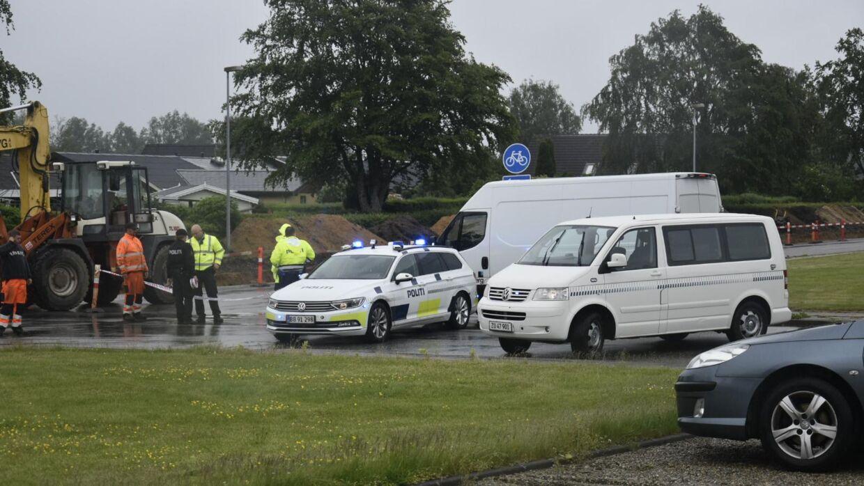 En person er omkommet ved en trafikulykke i Tjørring ved Herning.