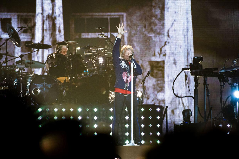 Der er solgt 25.000 billetter til aftenens koncert med Bon Jovi i Sønderborg.