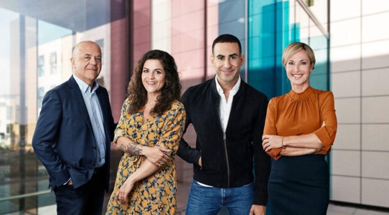 Det bliver de kendte værter Jes Dorph-Petersen, Petra Nagel, Abdel Aziz Mahmoud og Natasja Crone, der skal stå i spidsen for det nye program.