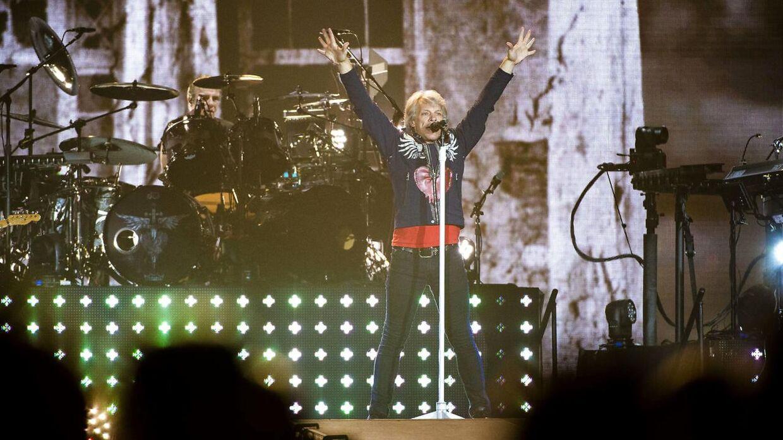 ARKIVFOTO fra Bon Jovi-koncert i Stockholm.