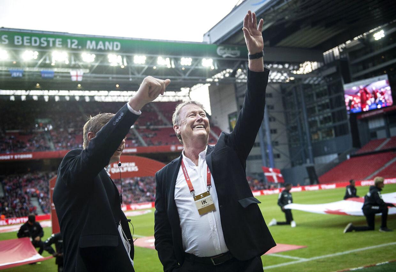 Åge Hareide har indtil videre haft en succesfuld tid som træner for det danske landshold, hvor det er blevet til 36 kampe, 17 sejre, 16 uafgjorte og tre nederlag.