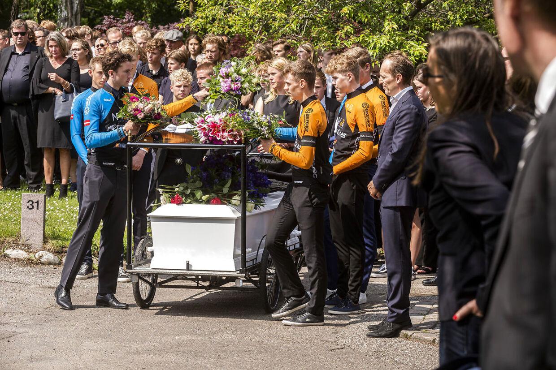 Andreas Byskov Sarbo blev begravet i juni.