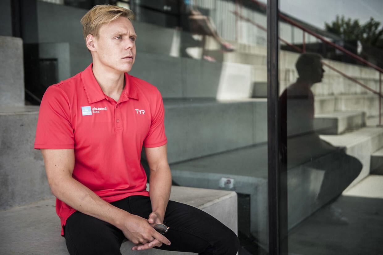 Daniel Skaaning, billedet, er talsmand for svømmerne på Det Nationale Træningscenter.