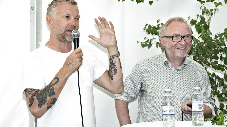 Casper Christensen taler med Jesper Theilgaard om sin rejse mod at spise plantebaseret.