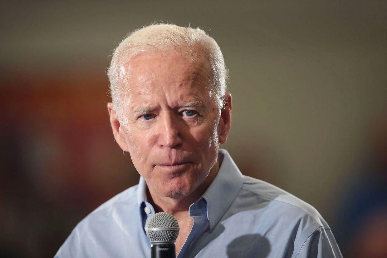 Barack Obamas forhenværende vicepræsident Joe Biden ligger i øjeblikket lunt i samtlige meningsmålinger.
