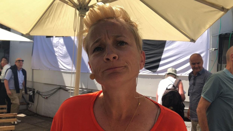 Ane Cortzen på Folkemødet 2019.