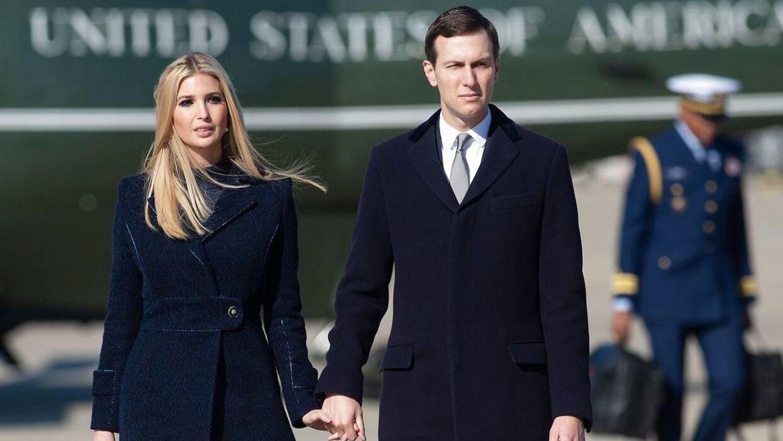 Både Ivanka Trump og hendes mand, Jared Kushner, er rådgivere for Donald Trump.