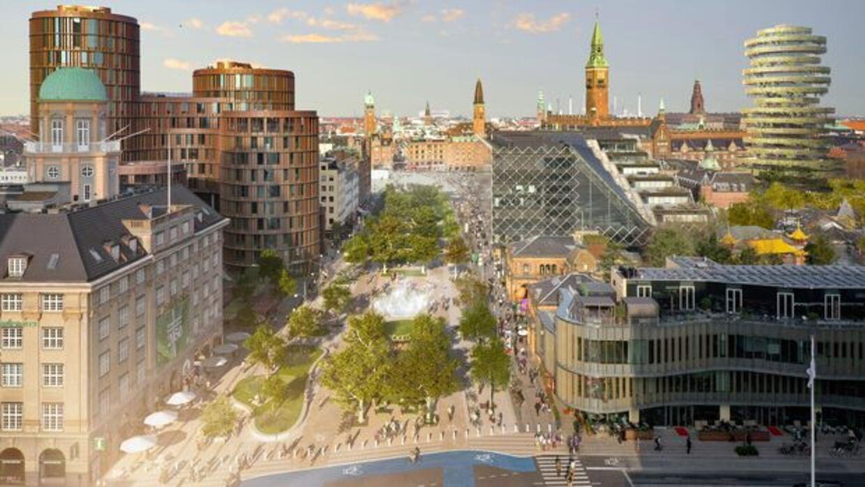 Sådan vil byparken skulle se ud, hvis den bliver en realitet.