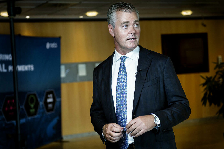 Bo Nilsson, CEO i Nets, kan ende med at score 1,9 milliarder kroner.