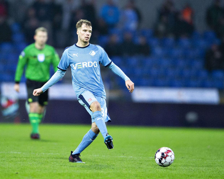 Nicolai Poulsen, billedet, er i sommer skiftet fra Randers FC til AGF.