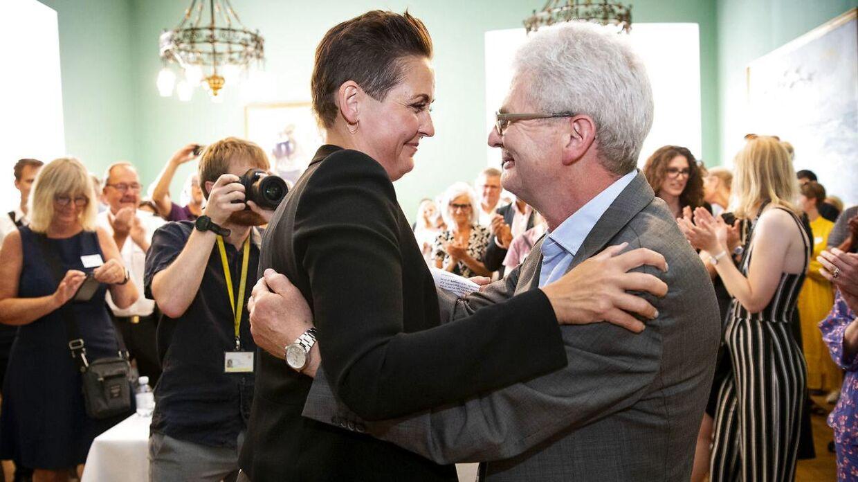 Pia Olsen Dyhr synes, Holger K. Nielsen var lidt for velovervejet, da de to mødte hinanden i SFs hovedbestyrelse i 1995. Siden har hun taget ved lære af ham.