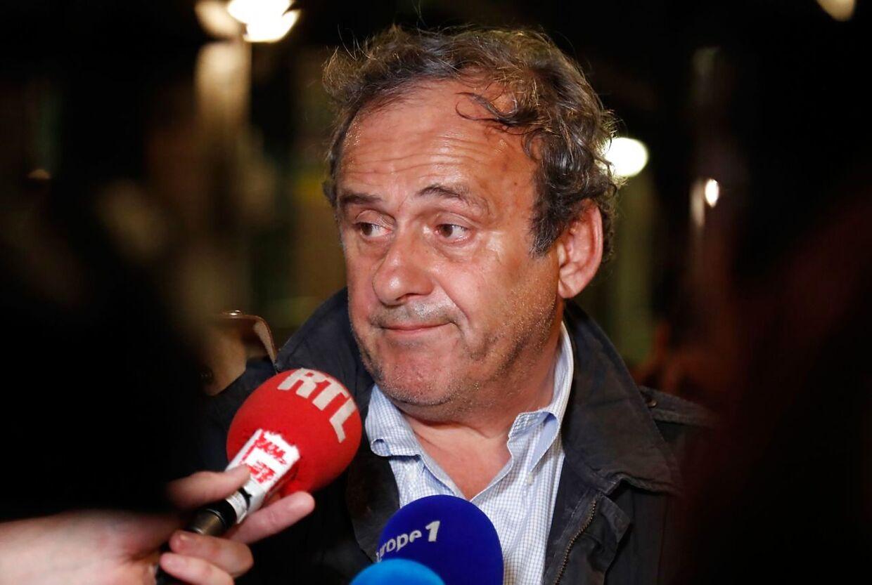 Den tidligere præsident for Uefa Michel Platini er blandt andet blevet afhørt om tildelingen af VM til Qatar.