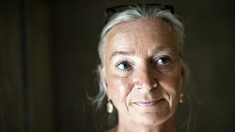 Ilse Jacobsen slæber Message i retten.