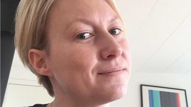 Kamilla Krogh har været glad for at bruge et privat lægeinitiativ, så hun ikke skulle gå unødigt længe med sin eksem. Foto: Privat.